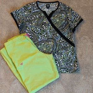 Med Couture scrub set (L/XL)